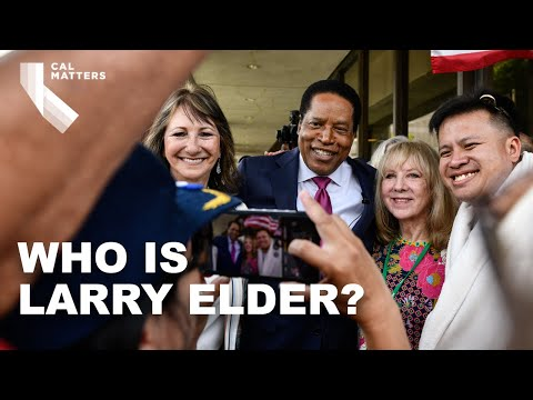Meet Larry Elder, candidate for governor in the California recall election