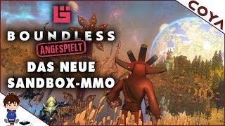 BOUNDLESS 🏰 Das neue SANDBOX-MMO • Gameplay German, Deutsch