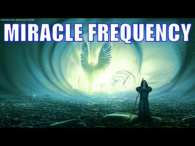 Meditation Frequency Of God 🙏 Thank You Universe For Everything ✨ Attraction Meditation  Music