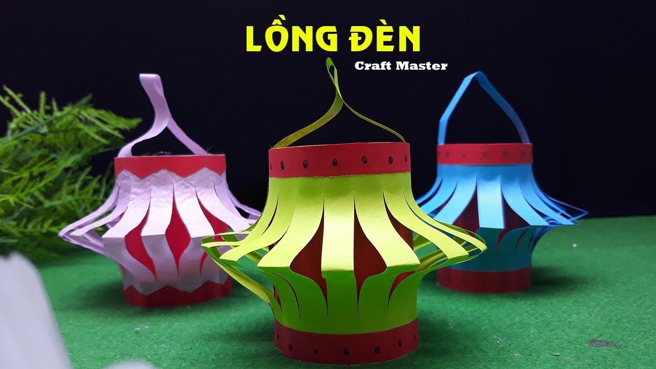 Cách xếp lồng đèn giấy - Craft Master