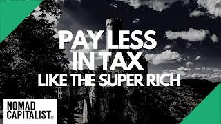 Lump-Sum Taxation: Tax Savings of the Super Rich