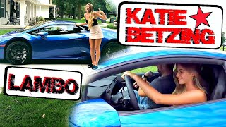 YouTube Star Katie Betzing Drives Lamborghini! Suburban Drives Michigan E2