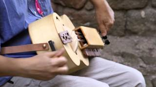 Hurdy Gurdy.Vielle à Roue.Ancient medieval music