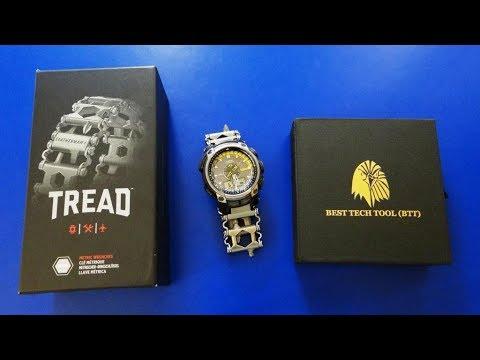 Браслет Leatherman с ПЕРЕХОДНИКОМ на часы Casio Pro-Trek краткая верися
