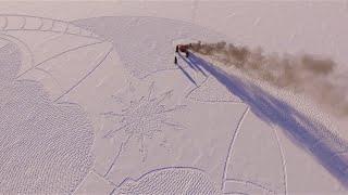 Снежный дракон в Якутии.