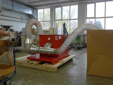 Paper strip vacuum device