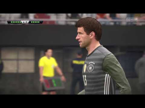 Fifa17   Argentina vs Germany   Best penalty shoot-out (8-7)
