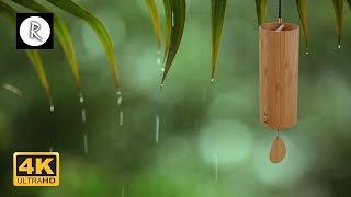 Koshi Chimes, Rain, Thunder & Wind Ambiance 10 Hours for Meditation,Relaxing,Insomnia, Nature Sounds