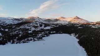 Winter Backpacking - Bighorn Mountains, Wyoming