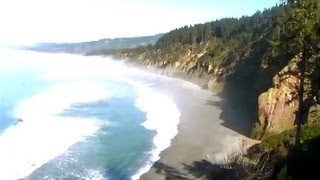 Video Postcard - Walking Tour North Coast California - Agate Beach - January 21, 2013