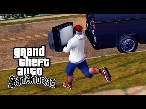 GTA San Andreas - #14: Videogame Ensina Jovens A Roubar E Choca Emissoras