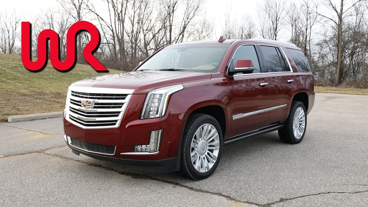 2017 Cadillac Escalade 4wd Platinum Pov Test Drive Review