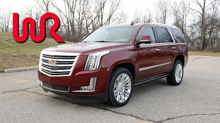 2017 Cadillac Escalade 4WD Platinum - POV Test Drive & Review
