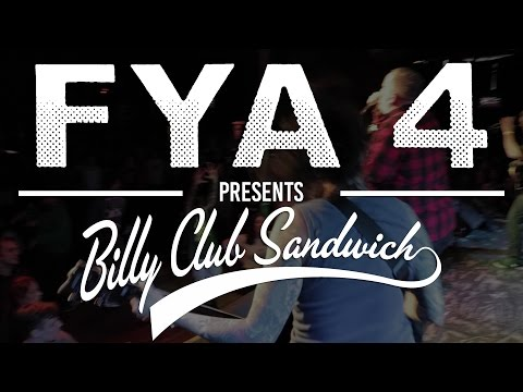 Billy Club Sandwich (Full Set) Multi-Cam at FYA Fest 2017