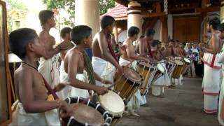 PANCHARI MELAM - Arragettam eranakulam temple-guru Sri Sadanam Divakara marar