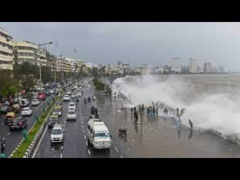 Cyclone in mumbai heavy rain flood 20th September 2017