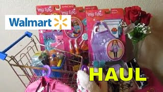 My Life As Walmart Haul for my Baby Alive Dolls