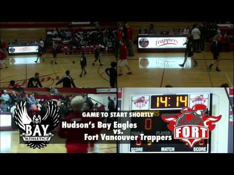 Boys Basketball  - Hudson's Bay vs. Fort Vancouver, 1/23/17