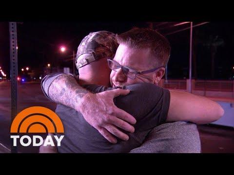 Las Vegas Shooting Victim Reunite With Hero Who Saved Him | TODAY