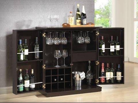 Modern Bar Cabinet - YouTube