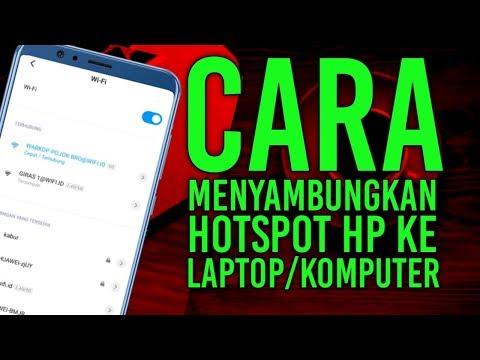 Tutorial Cara Menyambungkan Hotspot HP Ke Laptop ---------------------------------------------------.