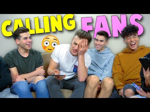 Prank Calling Fans Without Revealing!