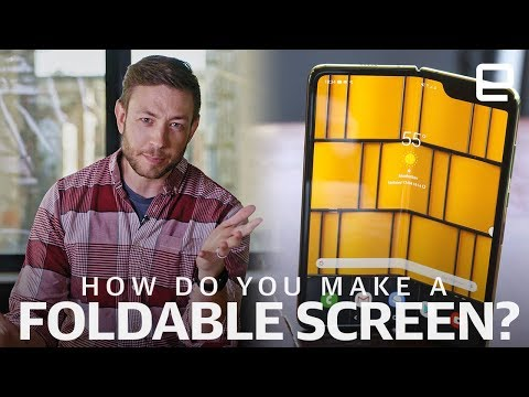 How did Samsung and Huawei make those foldable screens? | Upscaled