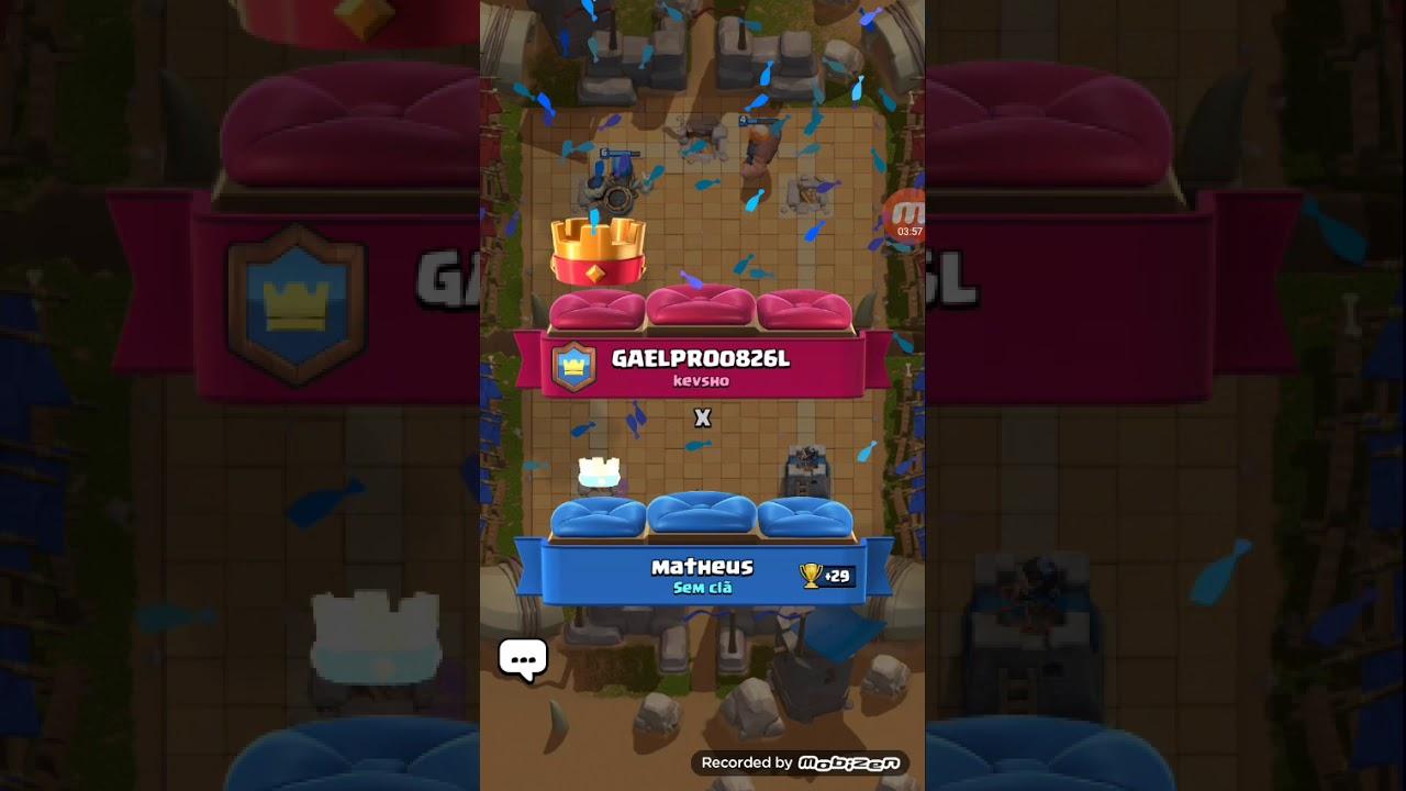 Primeira vez jogando clash Royale
