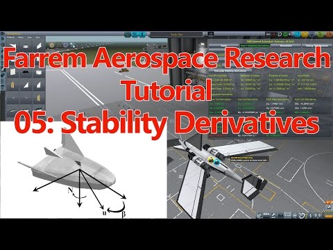 Ferram Aerospace Research Tutorial E05 Stability Derivatives