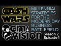 Cash Wars – Millennial Strategies for the Business Battlefield in the B-Quadrant!