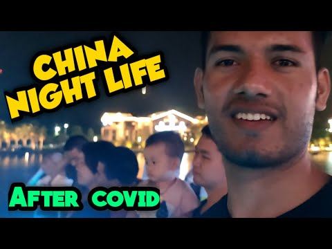 China nightlife - Back to Normal   Vlog44  Nanchang City  Saahil Hussain