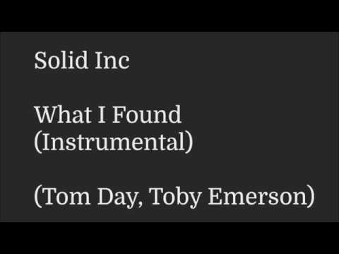 Solid Inc - What I Found (Instrumental)