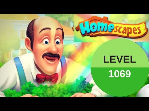 Homescapes Level 1069 - How To Complete Level 1069 On Homescapes