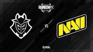G2 Esports vs. Natus Vincere - Consulate - Rainbow Six Pro League - Season XI - EU
