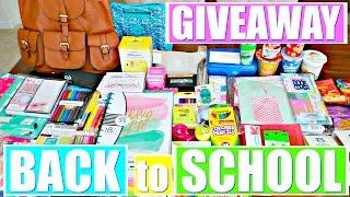 HUGE BACK TO SCHOOL SUPPLIES HAUL 2016 + GIVEAWAY!