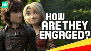 How Did Astrid & Hiccup Become Engaged? | How To Train Your Dragon