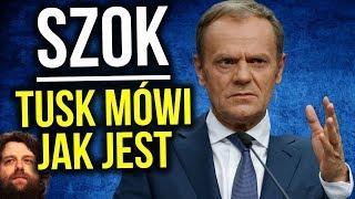 SZOK - Donald Tusk Mówi Jak Jest o Sojuszu Europy i Polski z USA - Komentator