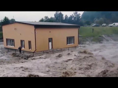 Последствия наводнения на