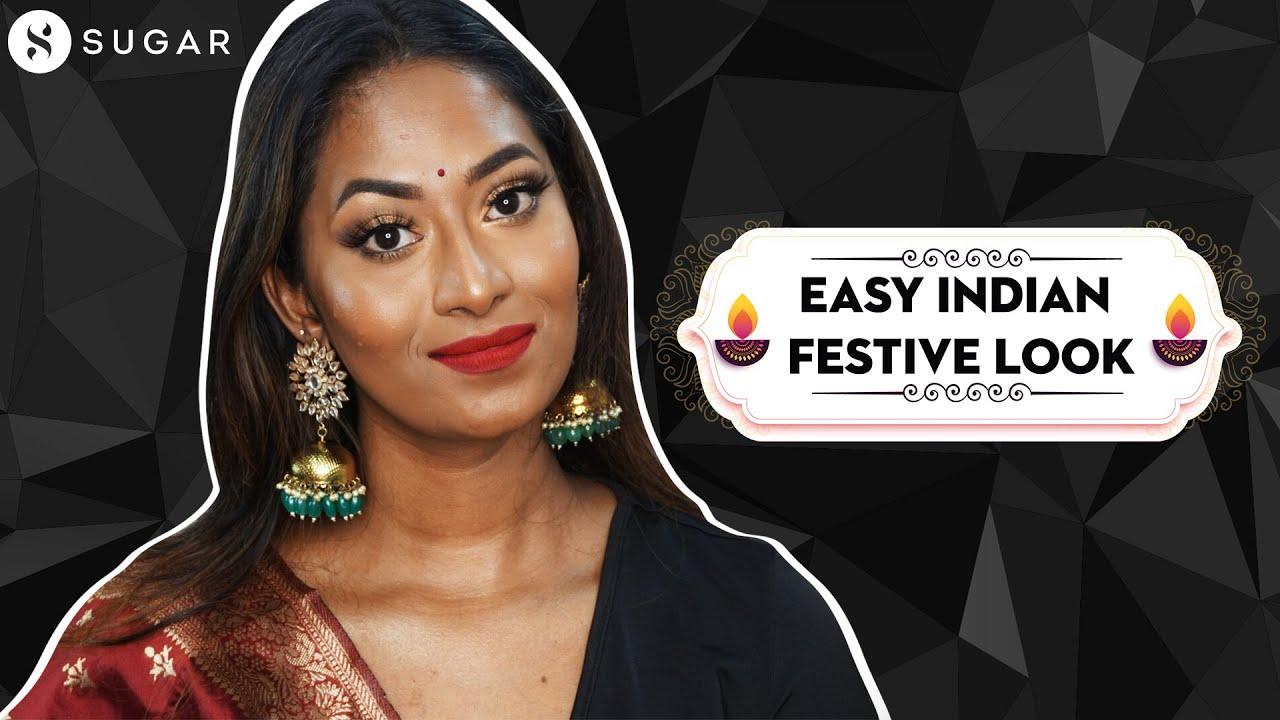 Easy Indian Festive Look For Diwali   SUGAR Cosmetics