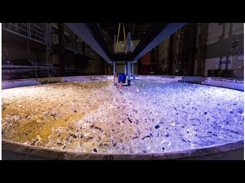 They just began casting the giant magellan telescope's 5th mirror. what a monster job.