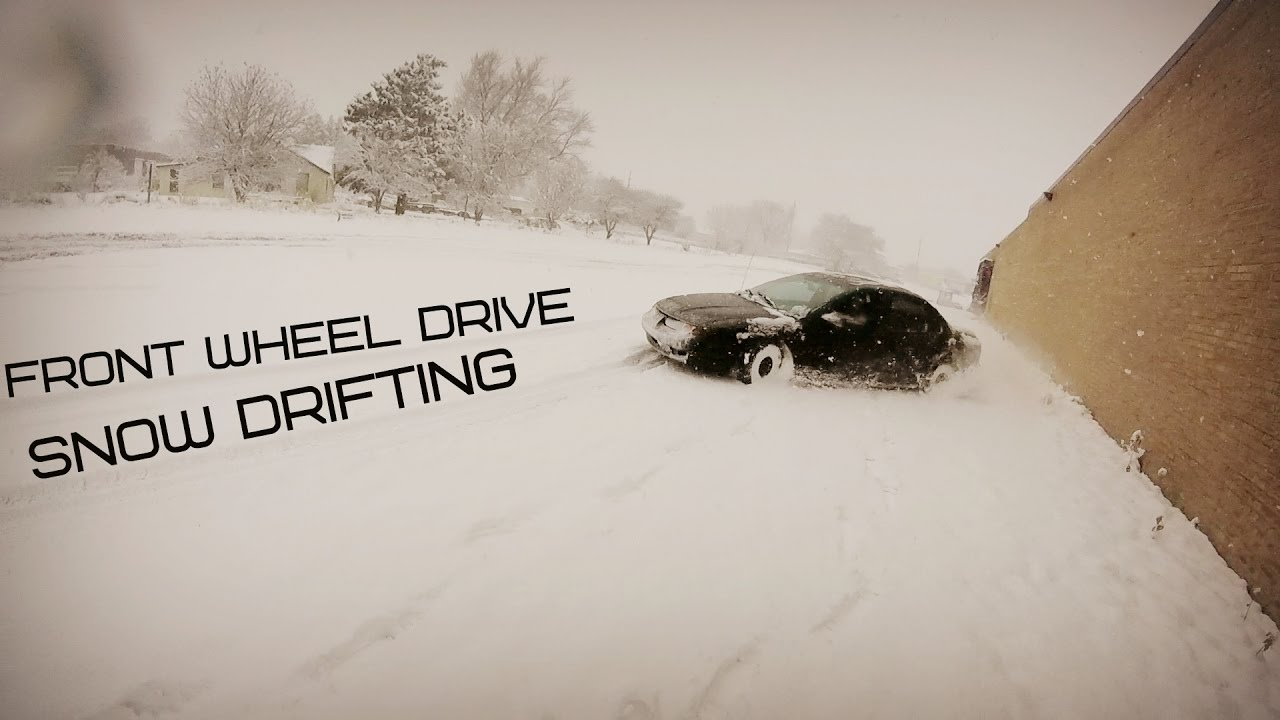 front wheel drive snow drifting youtube. Black Bedroom Furniture Sets. Home Design Ideas