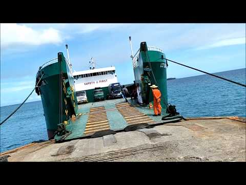 Traveling By Ferry And Bus In The Philippines