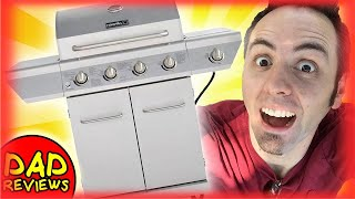 BEST PROPANE GRILL? | Nexgrill 4 Burner Stainless Steel Review | Model #: 720-0830H