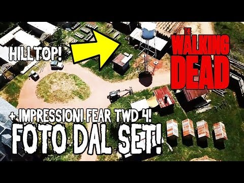 The Walking Dead 9 ITA - RILASCIATE LE PRIME FOTO DAL SET DELLA NONA STAGIONE! + IMPRESSIONI FEAR 4!