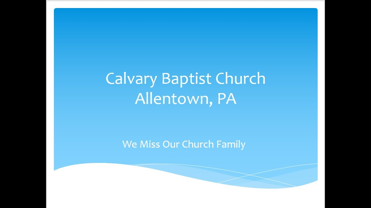 We Miss Our Church Family - a Picture Book