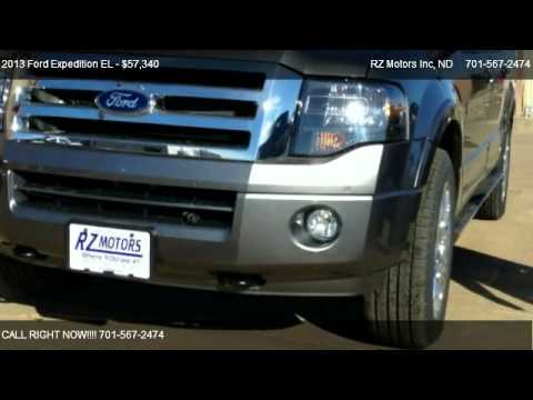 2013 ford expedition el el limited 4wd for sale in for Rz motors inc hettinger nd