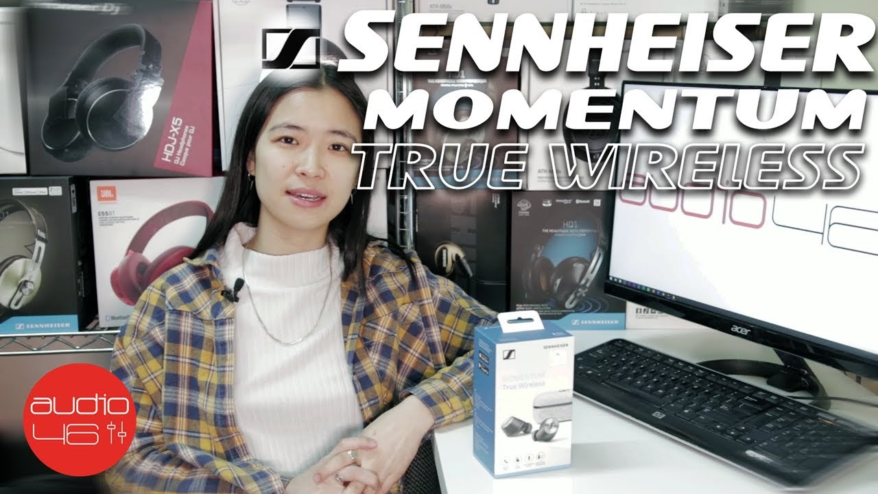 ddfcf321e42 Sennheiser Momentum True Wireless Unboxing, Demo, and Review - YouTube