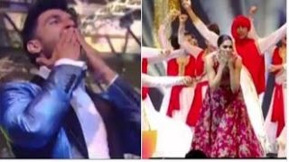 IIFA Awards 2016 | Deepika Padukone & Ranveer Singh Are Sending Flying Kisses To Each Other !