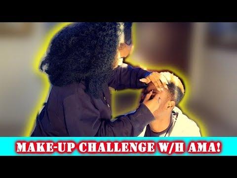 I LOOK LIKE JAMES CHARLES OMG! - MAKEUP CHALLENGE! thumbnail
