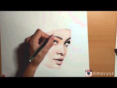how to draw realistic eyebrows step by step